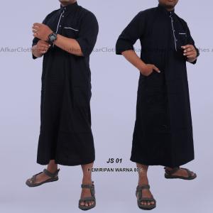 Pakaian Gamis Pria Dari Bahan Katun Jepang