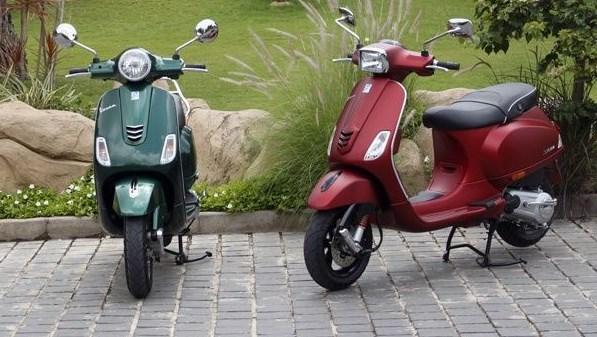 Piaggio Memperkenalkan Vespa Dan Aprilia SR 150
