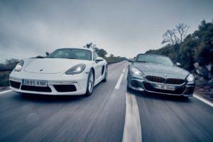 Bmw Z4 Coupe Atau Porsche Cayman?