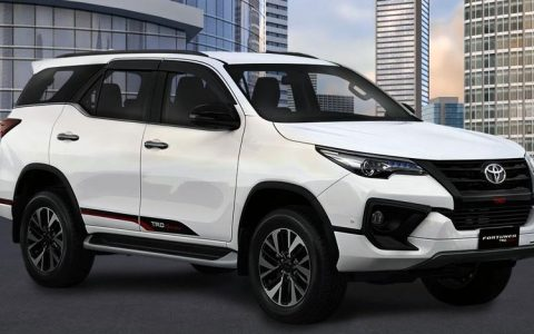 All New Fortuner Series putih